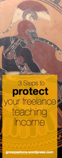 3 Steps to Help Frelance ESL Teachers Protect Their Income